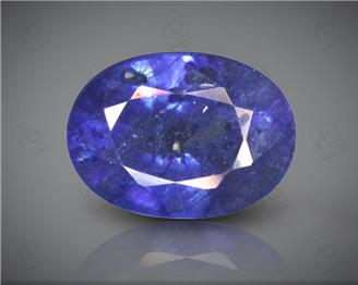 Blue Sapphire Heated & Treated Natural Certified 4.65 carats -96608