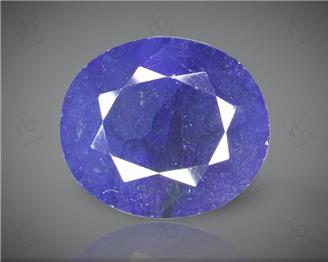 Blue Sapphire Heated & Treated Natural Certified 10.42 CTS ( 16786 )