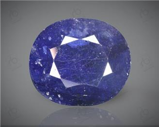 Blue Sapphire Heated & Treated Natural Certified 7.24CTS-16911