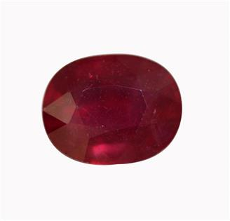 NATURAL  RUBY (MANAK) (TREATED & HEATED) 5.78 CTS (4521-534-2400)