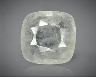 Natural White Sapphire (BAR) Certified 6.49CTS-2958