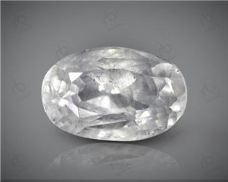 Natural White Sapphire  Certified 4.95 CTS. ( 63191 )