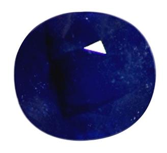 Natural Treated Blue Sapphire (Neelam) ( HEATED & TREATED ) 6.25 CTS (6611)