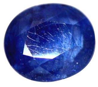 Natural Treated Blue Sapphire (Neelam) ( HEATED & TREATED ) 3.44 CTS (6646)
