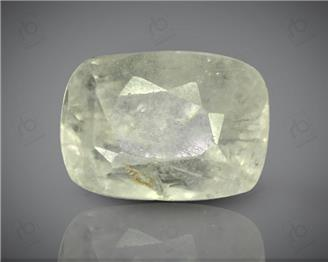 Natural White Sapphire Certified  4.78 CRT ( 52444 )