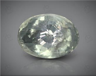 Natural White Sapphire Certified  3.99 CTS ( 92856 )