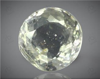 Natural White Sapphire Certified  3.92 CTS ( 92857 )