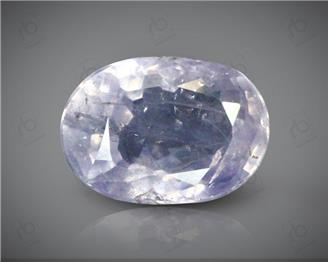 Natural Unheated & Untreated Certified Purple Blue Sapphire 5.25 CT ( 61204 )