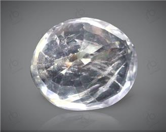 Natural White Sapphire Certified 3.72 CT ( 102649 )