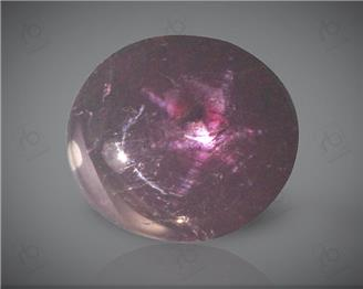 Star Ruby Natural Certified 6 CTS ( 2494 )