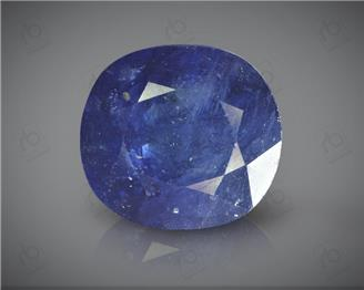 Natural Blue Sapphire Heated & Treated Certified 7.1 CTS ( 16790 )