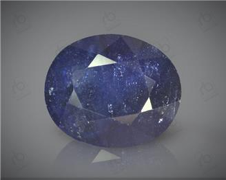 Natural Blue Sapphire Heated & Treated Certified 6.24 CTS ( 16794 )