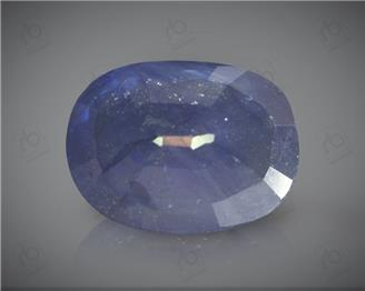 Natural Blue Sapphire Heated & Treated Certified 7.46 CTS ( 16796 )