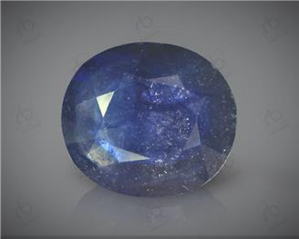Natural Blue Sapphire Heated & Treated Certified 7.42 CTS ( 16797 )