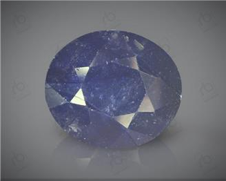 Natural Blue Sapphire Heated & Treated Certified 6.65 CTS ( 16798 )
