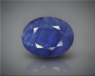 Natural Blue Sapphire Heated & Treated Certified 6.4 carats -96601
