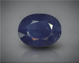 Natural Blue Sapphire Heated & Treated Certified 6.46CTS-16760