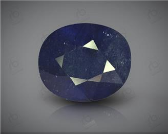 Natural Blue Sapphire Heated & Treated Certified 6.39CTS-16775