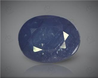 Natural Blue Sapphire Heated & Treated Certified 3.86CTS-16974