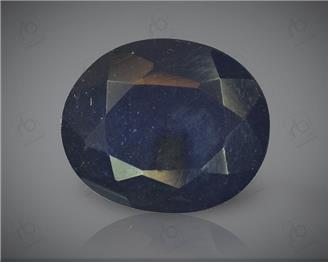 Natural Blue Sapphire Heated & Treated Certified 3.84CTS-16982