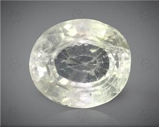 Natural Unheated & Untreated White Sapphire Certified 2.84 cts. ( 4428 )