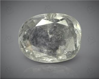 Natural Unheated & Untreated White Sapphire Certified  3.92 CRT ( 27182 )
