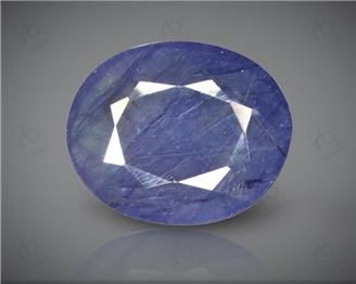 Blue Sapphire Heated & Treated Natural Certified 7.11 CTS-16942