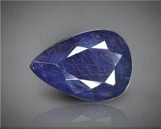 Blue Sapphire Heated & Treated Natural Certified 3.43 CTS-17002