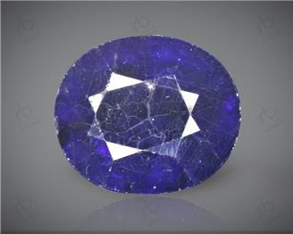 Blue Sapphire Heated & Treated Natural Certified 8.54  CTS-17038