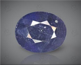 Blue Sapphire Heated & Treated Natural Certified 7.04 CTS-17104