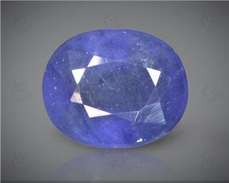 Blue Sapphire Heated & Treated Natural Certified 3.92 carats -88331
