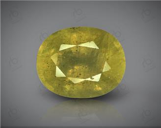 Natural Heated & Treated Yellow Sapphire Certified 4.59 carats -1693
