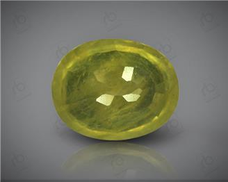 Natural Heated & Treated Yellow Sapphire Certified 3.93 carats -1696