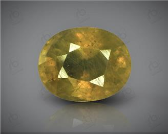 Natural Heated & Treated Yellow Sapphire Certified 3.74 carats -1704