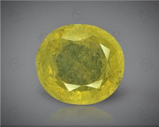 Natural Heated & Treated Yellow Sapphire Certified  4.64 carats -1741