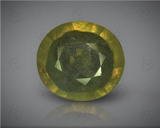 Natural Heated & Treated Yellow Sapphire Certified 4.57 (CTS) ( 71832 )