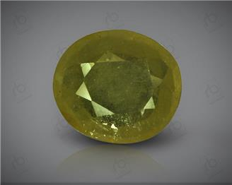 Natural Heated & Treated Yellow Sapphire Certified  4.91 (CTS) ( 71845 )