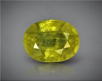 Natural Heated & Treated Yellow Sapphire Certified 3.16 CTS (DIN 86105 )