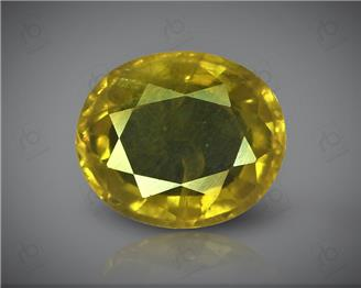 Natural Heated & Treated Yellow Sapphire Certified 1.90 CTS (DIN 86128 )