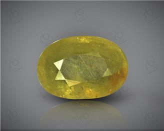 Natural Heated & Treated Yellow Sapphire Certified  4.88 carats -96518 ( YELLOW)