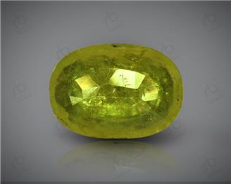 Natural Heated & Treated Yellow Sapphire Certified   4.54 carats -96522 ( YELLOW)