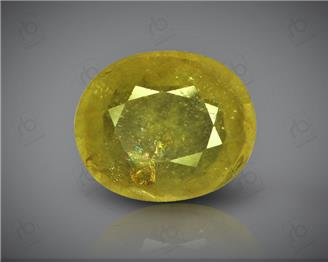 Natural Heated & Treated Yellow Sapphire Certified 4.79 (CTS) ( 88602 ) (D)