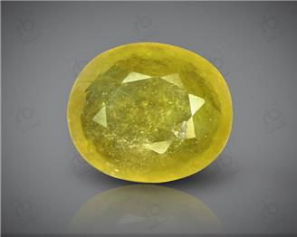 Natural Heated & Treated Yellow Sapphire Certified 7.32 (CTS) ( 88604 )