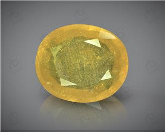 Natural Heated & Treated Yellow Sapphire Certified  6.25 (CTS) ( 60351 ) (D)