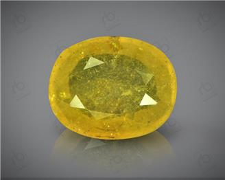 Natural Heated & Treated Yellow Sapphire Certified   4.60 (CTS) ( 60396 ) (D)
