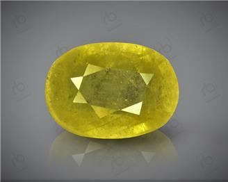Natural Heated & Treated Yellow Sapphire Certified 4.48 carats -96551 ( YELLOW)
