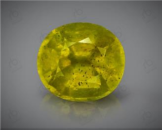 Natural Heated & Treated Yellow Sapphire Certified 7.30 (CTS) ( 88390 )