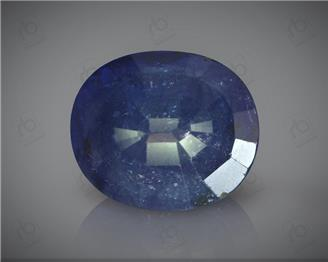 Natural Heated & Treated Blue Sapphire Certified 6.14 CTS ( 16799 )