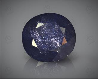 Natural Heated & Treated Blue Sapphire Certified 6.11 CTS ( 16801 )