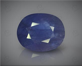 Natural Heated & Treated Blue Sapphire Certified 8.65 CTS ( 16808 )